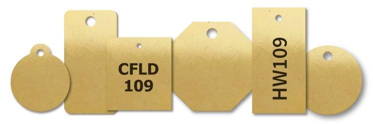 Brass Key Tags