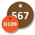 Plastic Number Tags