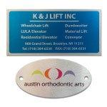 Printed Aluminum Nameplates